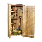 Cedar Storage Hutch, Storage Shed