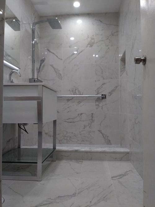 Mies Van Der Rohe Lafayette Park Townhouse Bathroom Remodel - Townhouse bathroom remodel