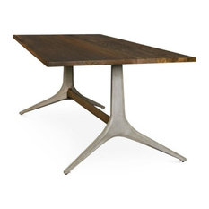 Dinah Dining Table Smoked 110-inch