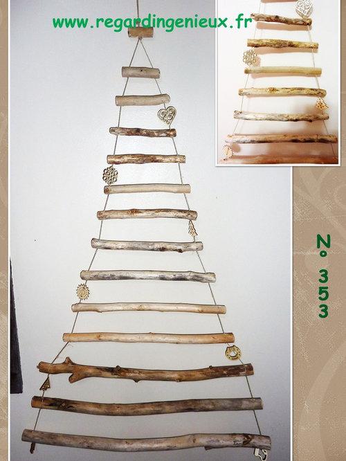 Sapin de noel en bois flott for Vente sapin en bois flotte