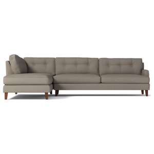 Marvelous Abbyson Living Verona Fabric Sectional Sofa Cream Caraccident5 Cool Chair Designs And Ideas Caraccident5Info
