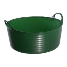 Tubtrugs 15 Liters Plastic Tubtrugs Small Shallow, Green