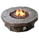 Red Ember 36 In Clarksville Propane Campfire Fire Pit Modern