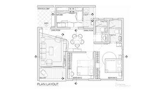 Harsha & Preeti Apartment Interiors