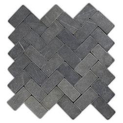 Traditional Mosaic Tile by Pebble Tile Shop