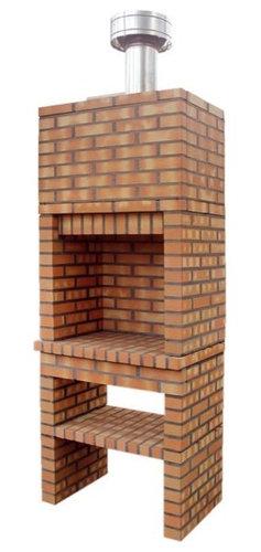 Barbacoas Rusticas Hamper Good Finest Latest Porche Con Barbacoa Y - Fotos-de-barbacoas-rusticas