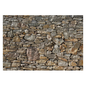 Stone Feature Wall Photo Wall Mural, 368x254 cm