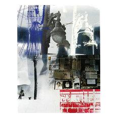 Robert Rauschenberg, Narcissus/Roci USA, Wax Fire Works, Mixed Media