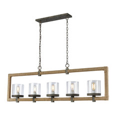 Heartland 5-Light Chandelier in Natural Rope
