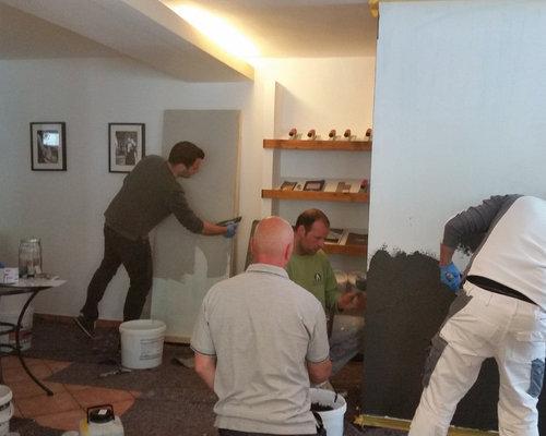 Beton Cire Showroom : Adil dekor raumveredelung beton cire