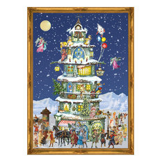 Alexander Taron - Sellmer Advent, Large Victorian Tower - Holiday Decorations