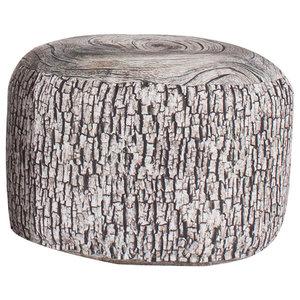 Tree Stump Floor Cushion, Ash