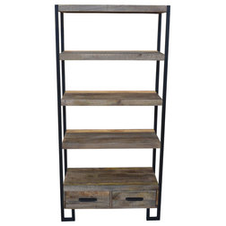 Industrial Bookcases by Moti