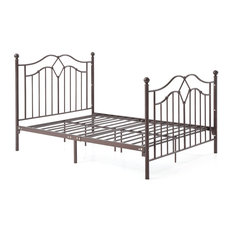 Bronze Metal Bed, Twin