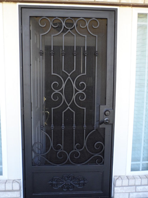 Wrought Iron Screen Doors