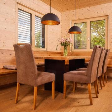 Einfamilienhaus im Lkr. Neumarkt in Holz100 Bauweise