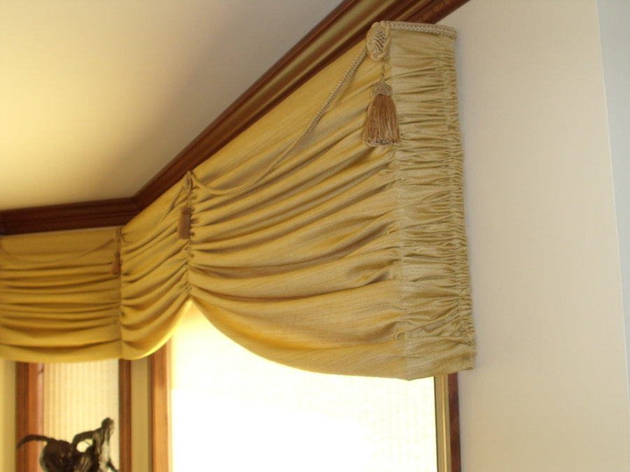 Licia's Bay Window Valances