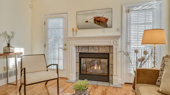 Spring Lake Heights Townhouse Vacant Staging