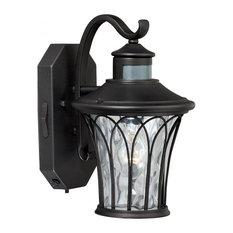 Outdoor Dusk To Dawn Lighting Most popular dusk to dawn outdoor wall lights and sconces for 2018 vaxcel vaxcel abigail dualux 75 outdoor wall light textured black outdoor wall workwithnaturefo