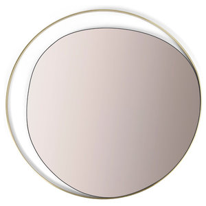 Ellipse Contemporary Wall Mirror