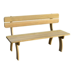 vidaXL Garden Bench Impregnated Pinewood
