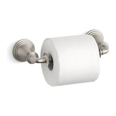 Kohler Devonshire Toilet Tissue Holder, Vibrant Brushed Nickel
