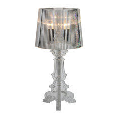 Kimber Table Lamp, Small, Clear