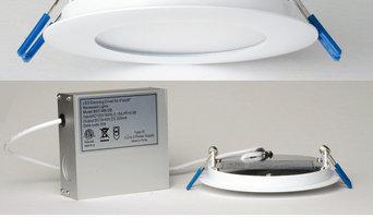 "LED Recessed Lighting Super Thin 4"""