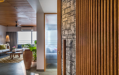 Ahmedabad Houzz: This Flat Has Open Views Both Outside and Inside