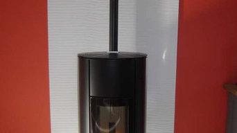 Poêle bois Palazzetti, modèle Ines 6Kw