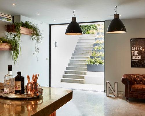 Industrial Style Len 11 best industrial home bar ideas houzz