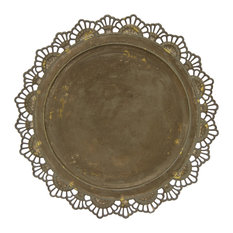 Three Hands Charger Plate, Metal
