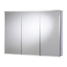 """Jacuzzi PD48000 26""""x36""""x5-1/4"""" Triple Door Medicine Cabinet"""