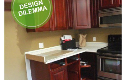 Design Dilemma: Lightening Up a Kitchen
