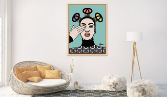 Limited Edition Art - South African Pop 09 - Display Image