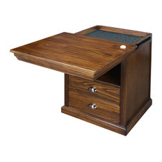 Lincoln Nightstand With Concealed Compartment Concealment Furniture