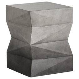 Industrial Outdoor Side Tables by Sunpan Modern Home
