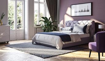 Продающая визуализация спальни для интернет магазина