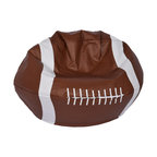 Football Matte Bean Bag