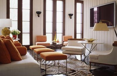 furniture color for small living room. color combos - orange furniture for small living room