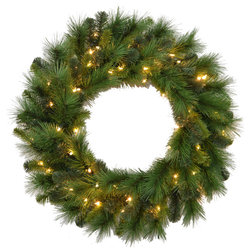 Traditional Wreaths And Garlands by Santa's Workshop, Inc