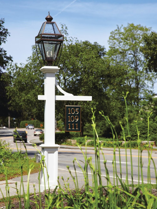 Hammond Lantern Post With Mortised Sign Bracket Outdoor Products