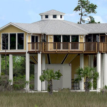 House on pilings