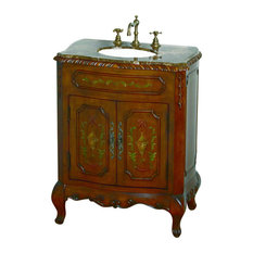 B&I Direct Imports Carsyn Single Sink Traditional Vanity, 28""