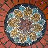 Mosaik im Garten: inspirierende Bilder, aus Stein gemalt