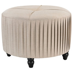 Traditional Footstools And Ottomans by Buildcom