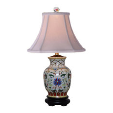 East Enterprises INc   Ashleigh Porcelain Vase Table Lamp   Table Lamps