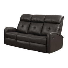 3 Seater Leather Recliner Sofa Houzz