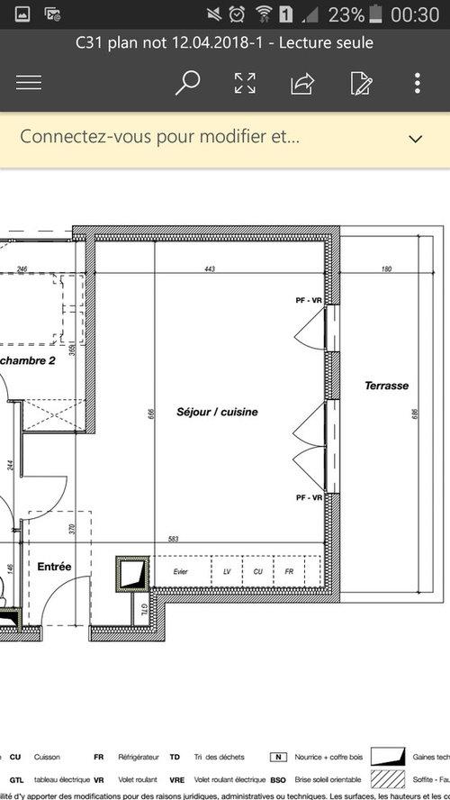 amenagement piece de vie 30m2. Black Bedroom Furniture Sets. Home Design Ideas