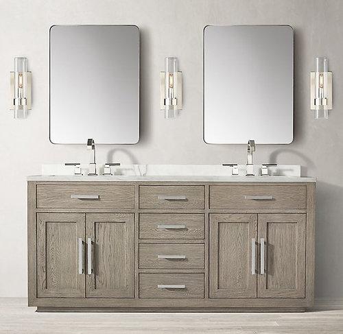 Does Anyone Have The Restoration Hardware Kempton Bathroom Vanity